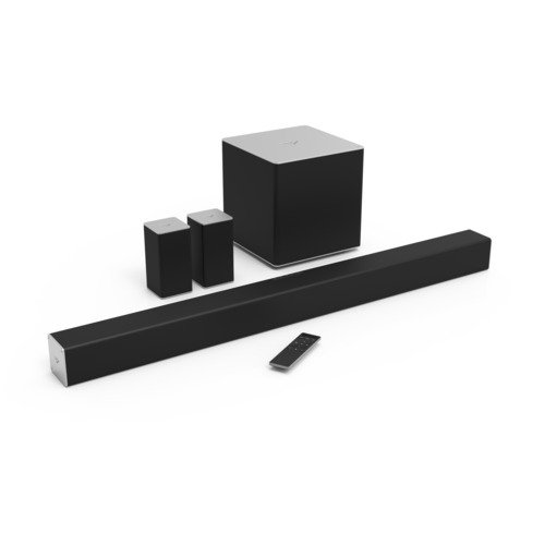 VIZIO SB4051-C0 40-Inch 5.1 Channel Sound Bar with Wireless Subwoofer and Satellite Speakers