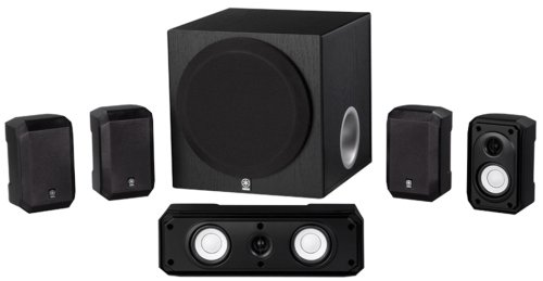 Yamaha NS-SP1800BL 5.1-Channel Home Theater Speaker System