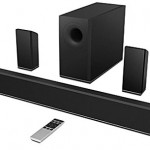 VIZIO S3851w-D4B 38-Inch 5.1 Sound Bar with Wireless Subwoofer and Rear Satellite Speakers (Refurbished)