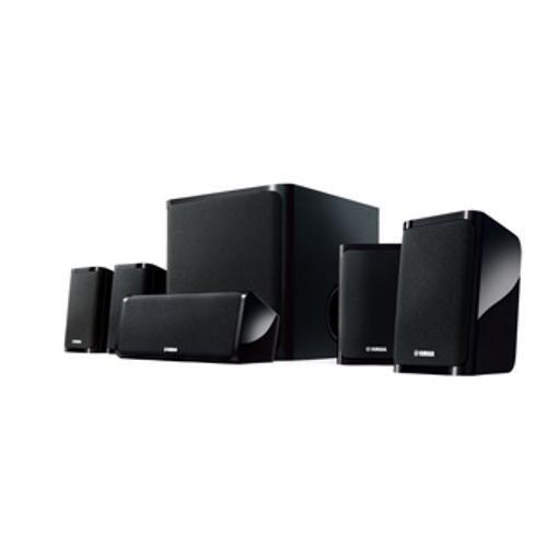 Yamaha NS-P40BL 5.1 Speaker Package (Black, Set of 6)