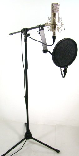 Bad Axx 904-HSMCAMK CM40 Condenser Microphone Studio Package
