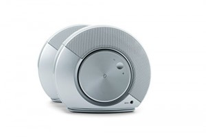 JBL - Pebbles 2.0 Speaker System (2-Piece) - Silver/White