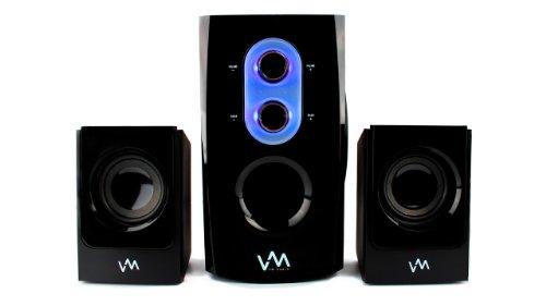 NEW! VM Audio VMCS21 300 Watt 2.1 Home/Computer Speakers Multimedia System