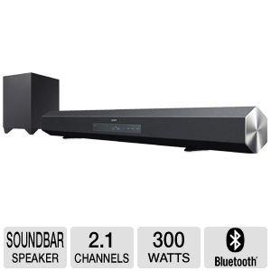 Sony HTCT260HB 300W SOUND BAR, 2.1 CHANNEL, WIRELESS SUB