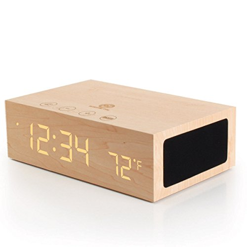 BlueSYNC TYM Bluetooth Stereo Speaker System & Alarm Clock With Temperature Sensor