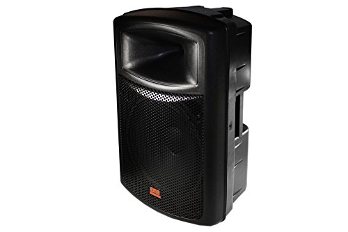"EMB EB115BT Pro Single 15"" 2-way Powered Speaker with BLUETOOTH 1200 Watt Built-in Amplifier / USB / Mp3 Player - For Multi-Purpose: DJ Performance / Home Entertainment / Karaoke / Public / Speaker /Studio"