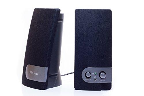 HYTOBI S10 2.0 Multimedia Speakers MES10-GRY (Black/Silver)