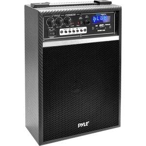 "Pyle PWMAB250BK Public Address System - 300 W Amplifier - 6.50"" Woofer, 1"" Tweeter - PWMAB250BK"