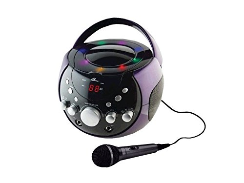 GPX J082PR Portable Karaoke Player
