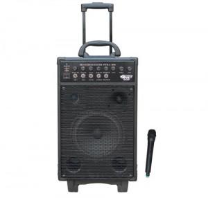 Pyle-Pro PWMA1050 - 800-Watt VHF Wireless Battery-Powered PA System with Echo, iPod, MP3 Input Jack