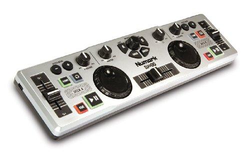 Numark DJ 2 Go Ultra-Portable USB DJ Controller for Mac or PC