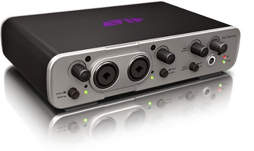 Avid Fast Track Duo with Pro Tools Express -Channel Audio Interface