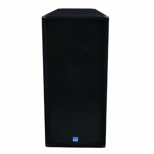 """GEMINI GT-3004 Dual 15"""" 1200 Watt Club/DJ Carpeted Passive Loudspeaker"""