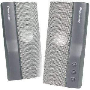 Pioneer S-MM301 USB Powered Computer Speakers (Grey)
