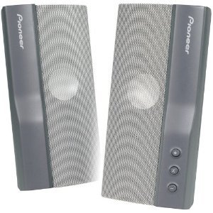 Pioneer S-MM301 USB Powered Computer Speakers (Grey)