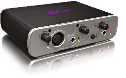 Avid Fast Track Solo with Pro Tools Express -Channel Audio Interface