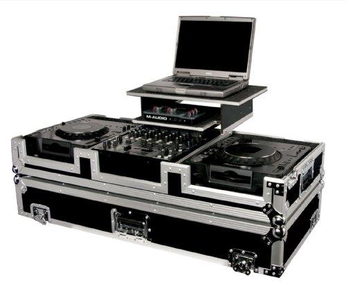 Odyssey FZGS12CDJW CD DJ Coffin Case with Wheels