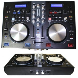 EMB - DJX7U - NEW Professional DUAL USB/SD/MP3 Mixer DJ Scratch Midi Controller! Virtual DJ Software included!