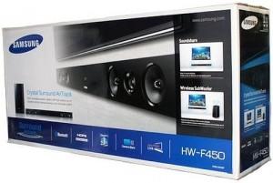 Samsung HW-F450 / HW-FM45C/ZA 2.1 Channel 280-Watt Soundbar - (Certified Refurbished)
