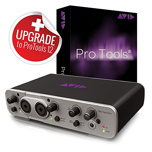 Avid Pro Tools 11 with FREE Fast Track Duo Pro Tools Studio and USB Interface