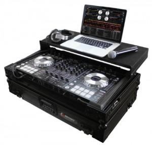 Odyssey FZGSPIDDJSXBL Black Label Flight Zone Pioneer DDJ-SX/S1/T1 DJ Controller Case