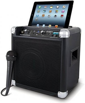 ION Tailgater Bluetooth Portable Speaker System with Auxiliary USB Charger