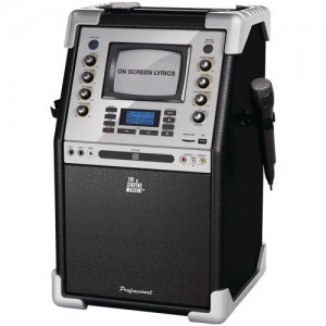 New-THE SINGING MACHINE SMG-903 PROFESSIONAL CDG KARAOKE PA SYSTEM - TSMSMG903