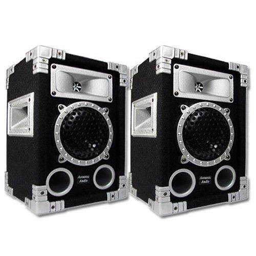 "Acoustic Audio GX-350 1000 Watt Pair 2-Way 5.25"" Pro DJ PA Speakers"