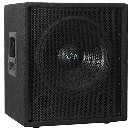 "NEW VM Audio VAS15SUB 15"" 1500 Watt Passive Sub DJ Speaker Pro Subwoofer"