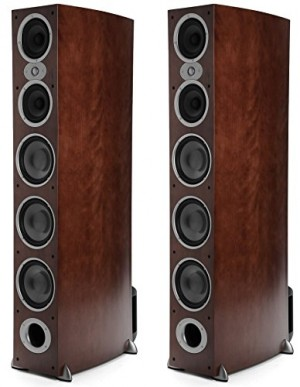 Polk Audio RTI A9 Floorstanding Speaker One Pair, Cherry
