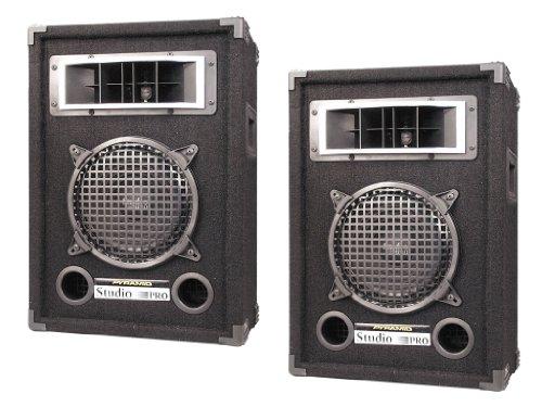 Pyramid Super Speaker Package for DJs/Office/Schools/Public -- Pair of PMBH839 200W 2-Way 8'' Speaker Cabinet