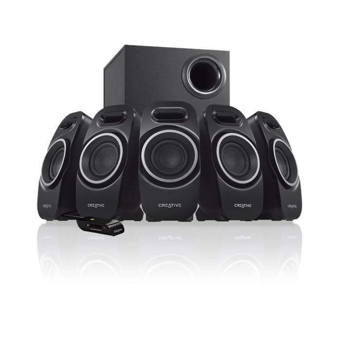 Creative A550 5.1-Channel Multimedia Speaker System (51MF4120AA002)