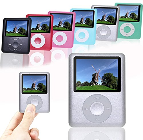 ACE DEAL AD03-8G Silver Color Slim Classic Digital LCD Mp3/Mp4 Media Radio Video Games Player Calendar with 8GB Memory
