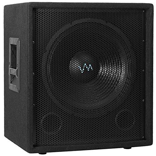 "NEW VM Audio VAS12SUB 12"" 1000 Watt Passive Sub DJ Speaker Pro Subwoofer"