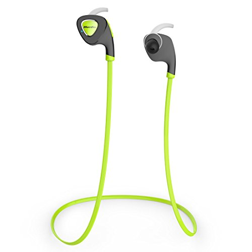 Bluedio Q5 Sports Bluetooth stereo headphones/wireless Bluetooth4.1 headphones/headset Earphones for outdoor Sports Gift package (Green)