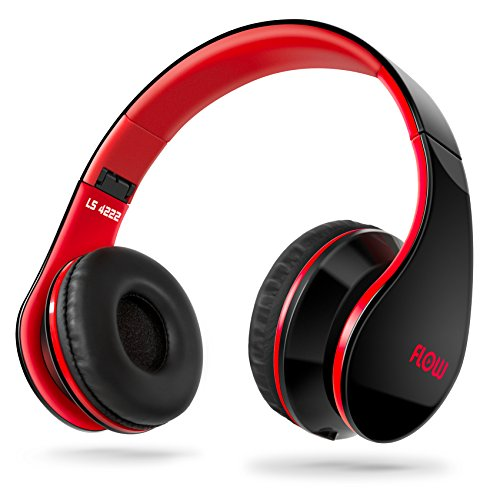 Sentey® Headphone Headset Flow (Black/red) Music Gaming Foldable for Kids or Adults Easy Storage with Detachable 3.5 Mm Audio Cable That Includes In-line Microphone and Controls Compatible with Apple Ipad Ipod or Iphone Mp3 Samsung Galaxy Smartphones Great Heavy Bass and Good for Workout and Running or Sports Analog Connector Sound Better Than Any Headphones Designer -Fantastic Eadphones Compatible with Any Pc, Laptop, Notebook or Mac Computer , Tablet , Sony Playstation Ps3, Ps4, Music Player , Ps Vita Soundstage Is Way Better Than Any Usb Connector - Lightweight Portable Stereo Works As Gaming Adjustable Headband Better Than Any Earbuds Works with Any Wired or Streaming - for Kids Men Children or Woman Girls - Xbox Wii Powerful High Definition Sound Amazing Sound - New Iphone 6 and Iphone 6 Plus Compatible - Best Super Portable Top Rated Sound- Indoor - Outdoor - For Car Mobile Sound Ls-4222