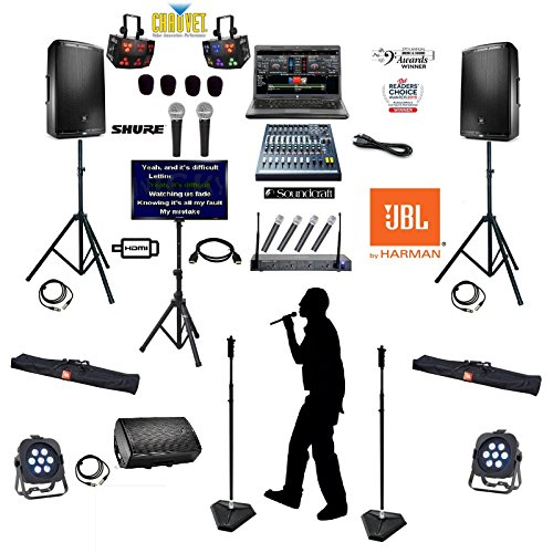 Complete High End Professional Karaoke Club System with JBL Dj Equipment