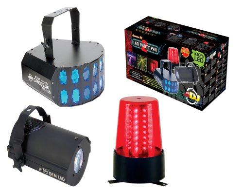 American DJ Supply LED Party Pak 2 LED Light System DJ Package