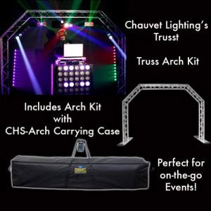 Chauvet Arch Kit System With Carrying Case