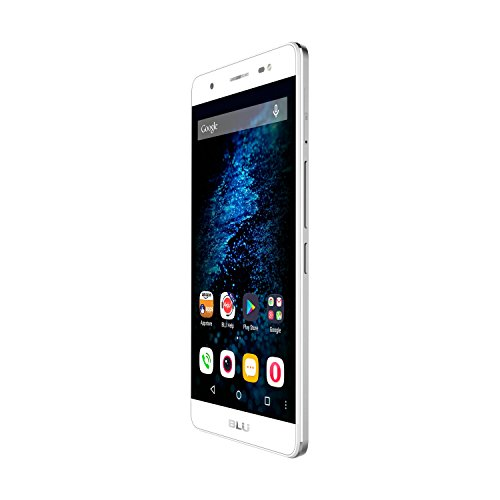 BLU Energy X Plus Smartphone - With 4000 mAh Super Battery- US GSM Unlocked - Silver