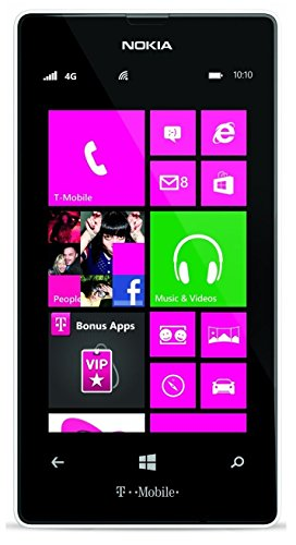 Nokia Lumia 521 RM-917 8GB T-Mobile GSM Windows 8 Cell Phone - White