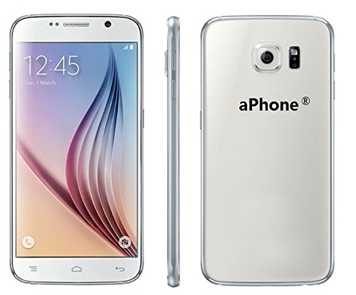 aPhone Slim6 Unlocked 5-Inch QHD LCD Dual-Core MTK6572M 512MB RAM 4GB ROM Android Smart Cell Phone (White)