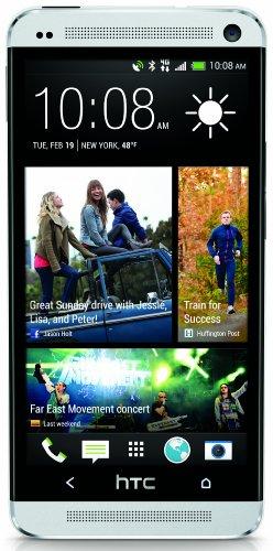 HTC One M7 Factory Unlocked Cellphone, US Warranty, 32GB, Silver