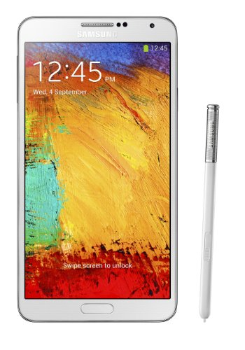 Samsung Galaxy Note 3 (SM-N900V) - 32GB Unlocked Verizon Smartphone - White (Certified Refurbished)