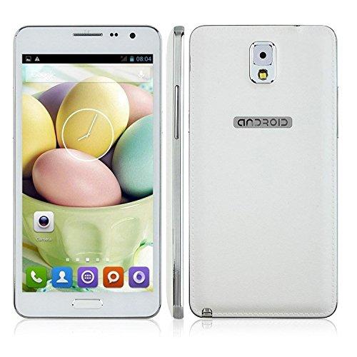 Ulefone Unlocked Smart Phone 5.5 Inch Quad Core MTK6582, 1GB, 8GB, White
