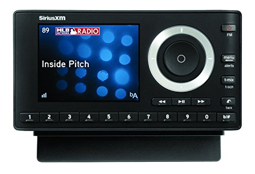 SiriusXM Satellite Radio SXPL1H1 Onyx Plus with Home Kit (Black)