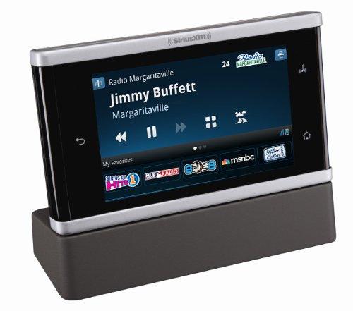 SiriusXM Lynx Portable Radio with Home Kit Bundle