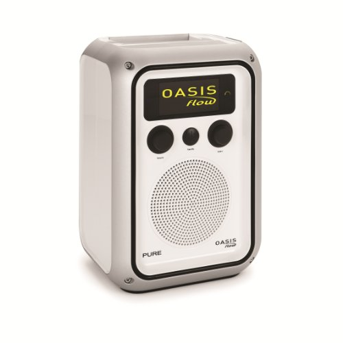 Pure Oasis Flow Rechargeable Weatherproof Internet and FM Radio