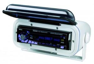 BOSS AUDIO MRH7 Marine  Universal Waterproof Radio Cover and Housing