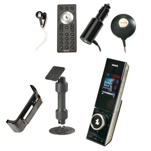 Sirius S50 Portable Satellite Radio Receiver with Car Pack